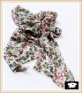 China scarf factory small floral scarf
