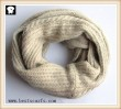 Scarf factory, cream infinity scarves