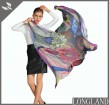 Silk scarf supplier floral printed silk scarf