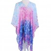 Chiffon beachwear shawl in China scarf factory