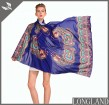 China scarf factory custom chiffon ponchos