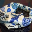 Customized designs digital printed headband in china scarf factory
